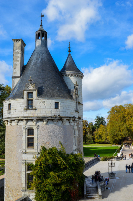 Marques Tower at Chateau de Chenonceau