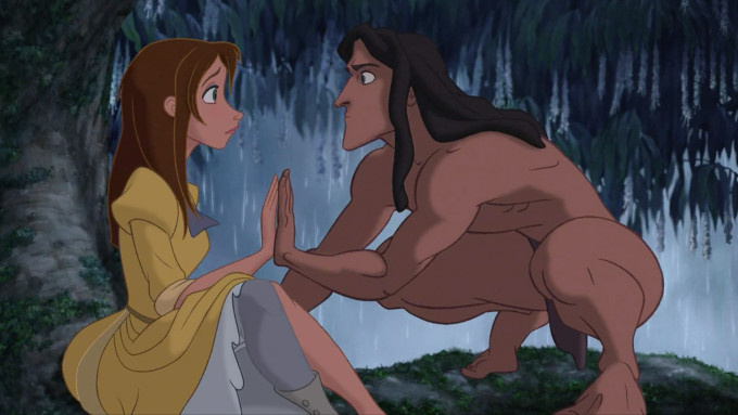 Disney's Tarzan and Jane Match Hands