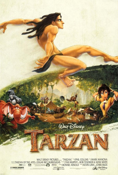 Disney's Tarzan Movie Poster