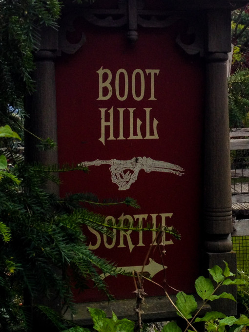 Disneyland Paris Boot Hill Cemetery