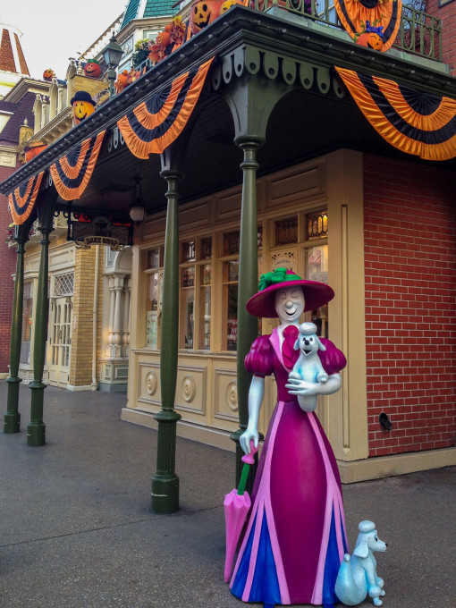 halloween main street usa ghosts