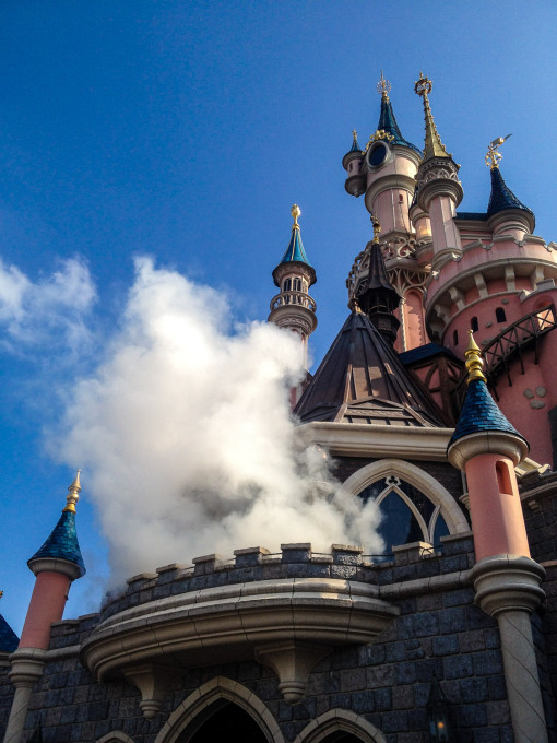 Maleficent Appears at Sleeping Beauty's Castle