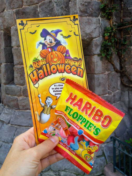 Halloween at Disneyland Paris with Haribo Candy