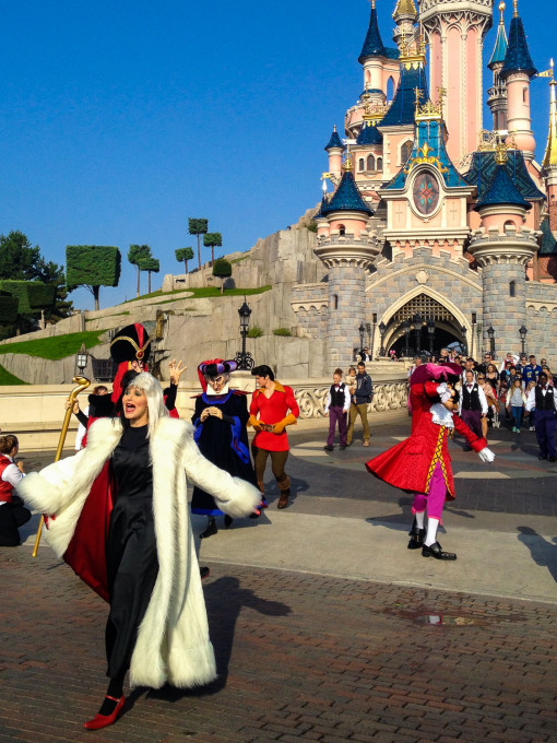 Disney Villains Characters in Disneyland Paris