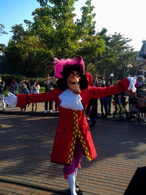 Captain Hook Disney Character