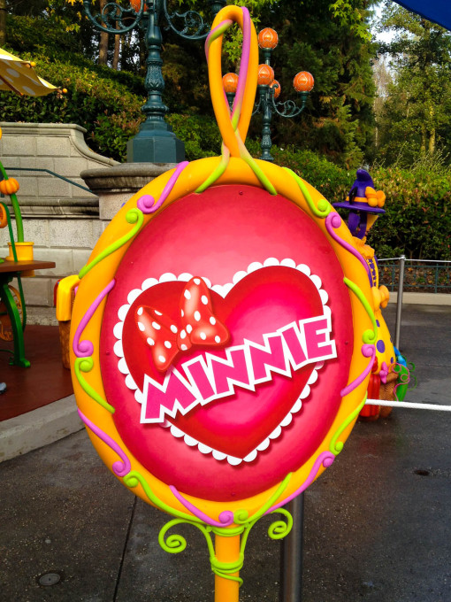 Minne Meet and Greet in Disneyland