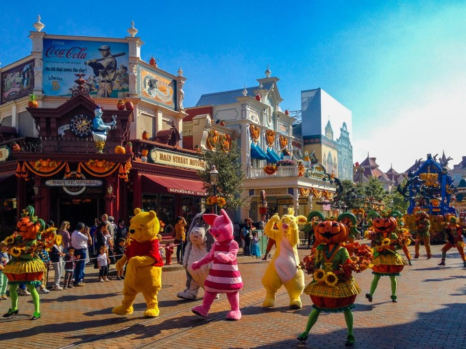 Winnie the Pooh in Mickey's Halloween Celebration