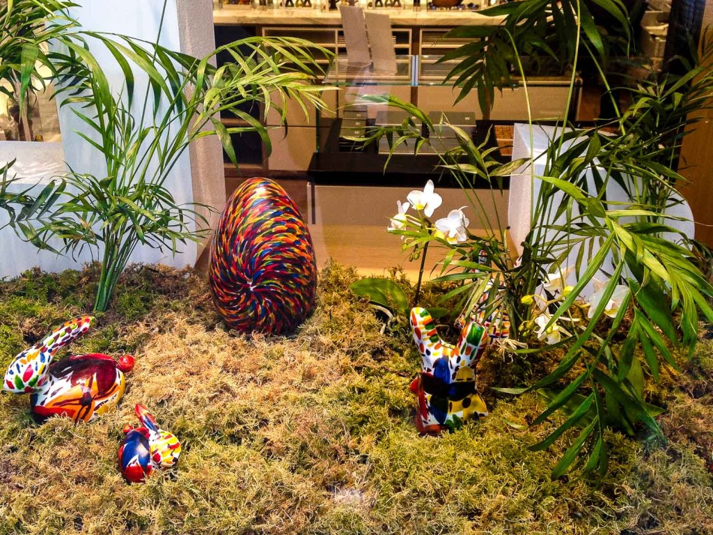 Paris Easter Windows