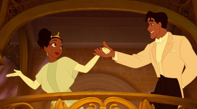 Princess and the Frog Princess Tiana and Prince Naveen