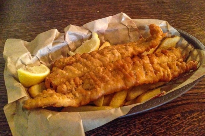 Toad Hall Restaurant Fish and Chips